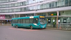 Arriva North West 3901 (MX61AVV) 04032018 (Rossendalian2013) Tags: arrivanorthwest bus piccadilly railway station manchester railreplacement vdl sb200 wright pulsar mx61avv