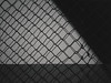 The safest wall in town | P2250016 (mkreibohm) Tags: chainlink fence wall shadow lines geometry geometrical urban texture minimal minimalist shadows contrast blackandwhite monochrome street olympus olympusem1omd em1 omd microfourthirds micro43 mzuiko 25mm f17