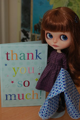 Thank you so much! (Little little mouse) Tags: blythe custombynat tbl perrydale pureneemosbody thankyou