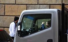 The Trucker (Colombaie) Tags: vacanze pasqua firenze toscana ritratto street fotografa donna gabriella humor