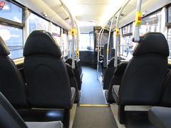 Metroshuttle 49110 Interior (TheTransitCamera) Tags: first49110 optare versa hybrid metroshuttle transit transportation transport travel manchester england uk unitedkingdom