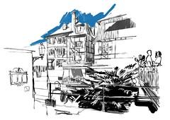 Colmar (Julien Schleiffer) Tags: colmar sketchcrawl urbansketchers sketches ipad ipadpro procreate digital painting