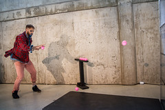 Juste une P'tite Nuite (Conférence de Presse) (Benoit Z Leroux) Tags: cirque cirquedusoleil circus crico jonglerie jongleur juggling nicolasfortin lescolocs colocs dédé dédéfortin 45degrees montréal québec troisrivières amphithéâtrecogeco