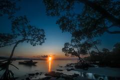 Nature's gift (Logesh Photostream) Tags: travel andamans havelock sunrise morning early hour long shutter longexposure colours beauty sun stillness calmness nikon d750 lee neutraldensity filters