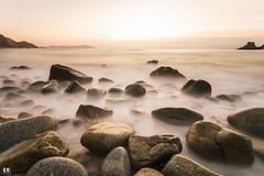 Praia Campelo (albertoleiras) Tags: canon6d canon1740f4l praiacampelo acoruña galicia puestadesol sunset landscape paisaje sedas filtrond