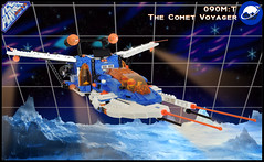 The Comet Voyager (spaceruner) Tags: lego moc space ship spaceship ice planet iceplanet 90s