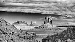 - A Long Way to Go - (claudiov958) Tags: arizona biancoenero blackwhite blancoynegro černýabílý claudiovaldés czarnyibiały landscape monumentvalley nikkor2470mmf28 nikond800e noiretblanc paisaje pretoebranco schwarzundweiss utah черноеибелое ngc