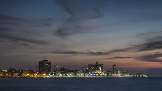 Evening in Havana