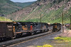 Minturn yard—1985 (Moffat Road) Tags: riogrande meet emd gp402 sd40t2 freighttrain tennesseepass royalgorgeroute minturn colorado co