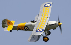Hawker Nimrod (Bernie Condon) Tags: uk british shuttleworth collection oldwarden airfield airshow display aviation aircraft plane flying navyday june june2018 hawker nimrod fighter faa fleetairarm raf rn royalnavy vintage preserved 1930s biplane