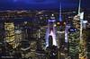 Nueva York (lautada) Tags: nuevayork newyork empirestate mirador estadosunidos unitedstates rascacielos edificios noche nocturna night skyline
