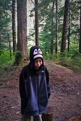 Sums It Up (michael.veltman) Tags: dan penguin hat north cascades little big beaver backpacking loop