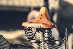 BROOKS in the Sun (*Capture the Moment*) Tags: 2017 brooks bern berne bicycle bicyclesaddle bicycleseat fahrrad fotowalk mog mogprimoplan1975neo meyeroptikgörlitzprimoplan1975neo sattel schweiz sonya6300 sonyilce6300 switzerland vintage analog analogue