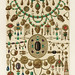 Etruscan pattern from L'ornement Polychrome (1888) by Albert Racinet (1825–1893). Digitally enhanced from our own original 1888 edition.