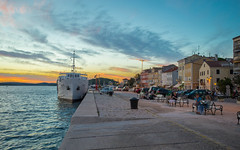 Mali Lošinj (08) - sunset (Vlado Ferenčić) Tags: malilošinj islands vladoferencic sunset vladimirferencic adriatic sea seascape adriaticsea croatianislands hrvatska croatia nikond600 nikkor173528 boat cityscape