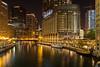 Chicago River 1 (Rodney Topor) Tags: chicago cityscape illinois longexposure nightshot reflection river skyline trump usa xt2 xf1024mm