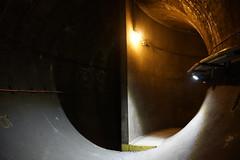 Split Tunnel (steve_whitmarsh) Tags: london euston tunnel abandoned derelict station tube underground eustonstation subway abigfave