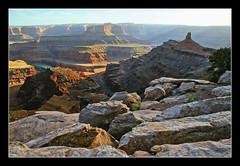 Utah's Canyonlands from Dead Horse Point - 1989 (sjb4photos) Tags: utah canyonlandsnationalpark deadhorsepoint