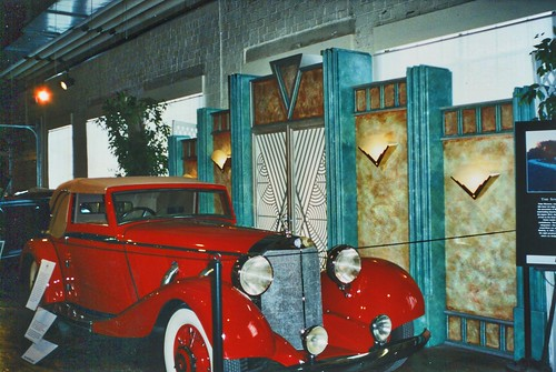 Auburn Cord Duesenberg Automobile Museum ~ Auburn Indiana  ~ Film 90s