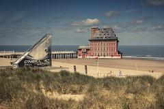 Le Curtius à la Côte (Gilderic Photography) Tags: blankenberge liege curtius belgium belgique sea mer du nord surreal april fool poissondavril humour architecture plage beach