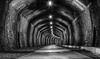 Cressbrook Tunnel (gmorriswk) Tags: tunnel monsal trail derbyshire peaks peak district bw mono black white cressbrook landscape architecture