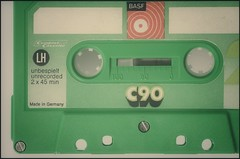 Compact Audio Cassette / Back in the Days (frankvanroon) Tags: 7dwf mondaysfreetheme backinthedays cassette audio cac basf