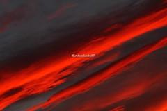 . (CarloAlessioCozzolino) Tags: cielo sky tramonto sunset nuvole clouds sardegna sardinia rosso red visioni visions poesia poems robertobolaño
