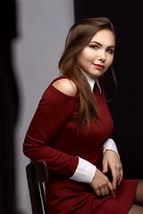 Vika (TRUE.panda) Tags: za zeiss carlzeiss a850 planart1485 sony portrait studio dress posing
