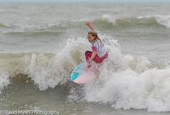 Bree Smith (mylesfox) Tags: surfer girl surfing sea ocean wave board