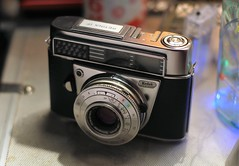 Camera of the Day - Kodak Retina IF (Type 046) (TempusVolat) Tags: kodak retina camera if retinaif film 35mm chrome vintage garethwonfor tempusvolat mrmorodo gareth wonfor tempus volat canon eos 60d autochinon