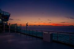 Spanish Coastline (Tony Shertila) Tags: pool spain africa atlantic azura bar coast cruise cruiseship deck dock europe gibralta holiday morocco outdoor passenger people port ship straits sunset tourist transport vacation