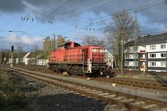 DB 294 692-9 (davidvines1) Tags: railroad rail train diesel locomotive shunter db germany tree cloud shadow sky