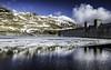 Lawers Dam With Ice (daedmike) Tags: scotland perthshire lawersdam dam resevoir water hydrodam ice winter snow mountains hills hillwalking refelections lochannalairige winterbeauty
