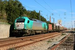 IBERC 335.037 (Nelso M. Silva) Tags: takargo ibercargo stadler vossloh euro 4000 emd diesel locomotiva mercadorias tramesa linha vendas novas coruche siderurgico