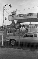 Portland Auto Auctions (relistan) Tags: leica m2 leicam2 voigtlander colorskopar skopar35 ilford delta100 adox fx39