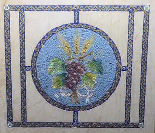 Evanston, IL, Halim Time & Glass Museum, Favrile Glass Mosaic (Louis C. Tiffany, Tiffany Studios)