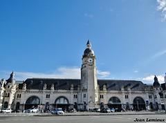 La Rochelle - Gare de La Rochelle-Ville (JeanLemieux91) Tags: la rochelle charentemaritime poitoucharentes france europe march mars marzo 2018 hiver winter invierno horloge clock reloj gare train station tren estación