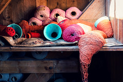 (franconiangirl) Tags: spinnerei ehemalig fabrik textileindustry textilindustrie verlassen urbanwandering industrialdecay decay spinninmill textilfabrik abandoned brache industrieruine