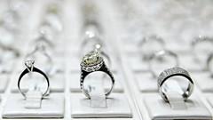 The Trio (Sanjiban2011) Tags: jewellery diamond diamondring ring artisticobjects objects depthoffield bokeh arrangements indoor tabletop stilllife nikon d750 tamron tamron2470 dubai dubaigoldsouq uae