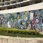 Press (Imprensa), mosaic by Di Cavalcanti, downtown São Paulo, Brazil. thumbnail