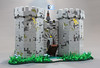 Black Falcon's Fortress. (Mark of Falworth) Tags: lego castle fortress knights classic modular building architecture stone stonework masonry landscape art creation roof tower 80s 80 black falcon mark falworth ideas idea