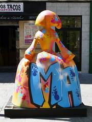 """Menina """"Dejar el rastro del nombre"""", por Pastron#7 (Madrid) (Juan Alcor) Tags: dejarelrastrodelnombre pastron7 plazadechueca madrid 2018 exposición meninasmadridgallery menina españa spain meninas"""
