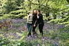 Lizzie, Charlotte and Harriet (Chi Bellami) Tags: film fuji fujifilm fujicolor c200 scanned scan colour c41 negative photohippo chibellami canon eos1n 35mm 40mm f28 stm pancake woods bluebells beechcopse godshill isleofwight lizzie harriet charlotte family