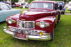 1948 Lincoln Continental (ilgunmkr - Mourning The Loss Of My Wife Of 52 Year) Tags: carshow sandwichillinois 2017 lincoln lincolncontinental 1948 fordmotorcompany v12