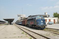 Train 4300 à Kosovo Polje (Trains-En-Voyage) Tags: serbie yougoslavie kosovo unmikrailways di3 urdi3
