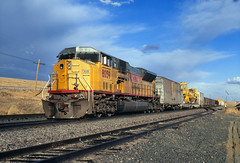 Wreck train at Rocky (Moffat Road) Tags: unionpacific up wrecktrain rocky colorado upmoffattunnelsub co emd sd9043mac 8059