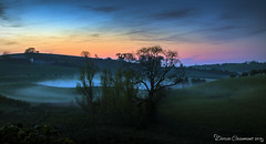 Fog rolling in (dareangel_2000) Tags: dariacasement landscape northernireland trees valley fog weatherphenomena nightphotography goldenhour bluehour magichour