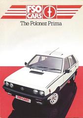 1985 UK Brochure (Hugo-90) Tags: daewoo fso polonez fiat 125p ads advertising brochure auto car automobile caro atu prima 1985