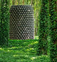 Stephen Cox - Lingam of a Thousand Lingams (Pacificnw.co.uk) Tags: 2018 casssculpturefoundation goodwood england stephencox day june daysout lingamofathousandlingams flickr westsussex