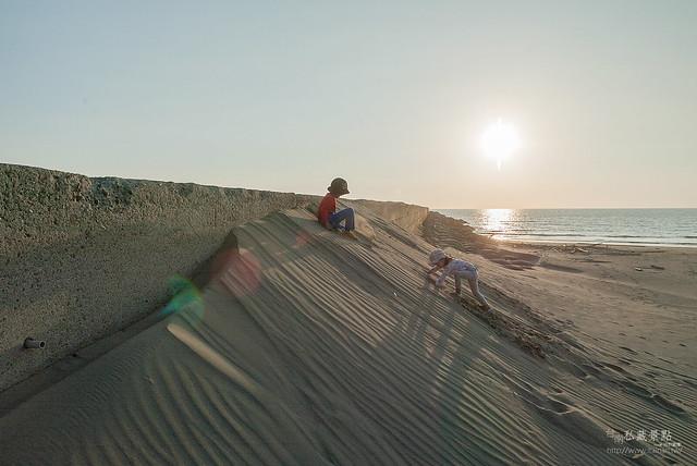 青鯤鯓夏天半日遊 呷冰、呷蚵嗲、玩海沙 (1)